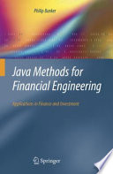 Java Methods For Financial Engineering Book PDF