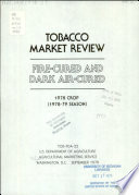 Fire cured and Dark Air cured Tobacco Market Review Book PDF