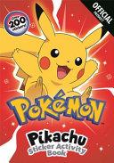Pok  mon  Pikachu s Sticker Activity Book
