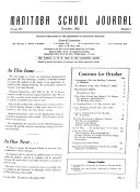 Manitoba School Journal