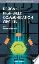 Design of High Speed Communication Circuits Book