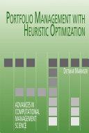 Portfolio Management with Heuristic Optimization