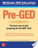 McGraw Hill Education Pre GED with Downloadable Tests  Second Edition