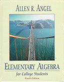 Elementary Algebra for College Students