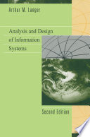 Analysis and Design of Information Systems Book