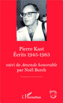 Pdf Pierre Kast Écrits 1945-1983 Telecharger