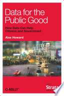 Data For The Public Good Book PDF