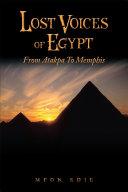 Lost Voices of Egypt [Pdf/ePub] eBook