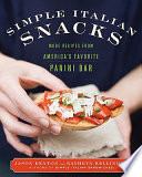 Simple Italian Snacks Book