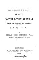 Pdf The Edinburgh high school French conversation-grammar