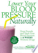 Lower Your Blood Pressure Naturally Book PDF