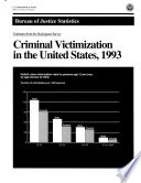 Criminal Victimization In The United States 1993