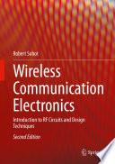 Wireless Communication Electronics Book