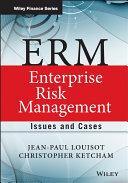 ERM - Enterprise Risk Management