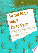 All The Math That S Fit To Print