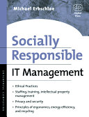 Pdf Socially Responsible IT Management