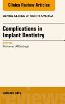Complications in Implant Dentistry  An Issue of Dental Clinics of North America  E Book