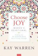 Choose Joy Women s Devotional