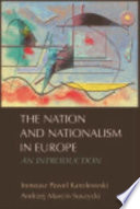 Nation and Nationalism in Europe