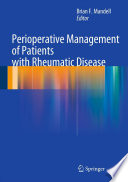 Perioperative Management Of Patients With Rheumatic Disease Book PDF