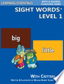 Sight Words Plus Level 1  Sight Words Flash Cards with Critters for Pre Kindergarten   Up