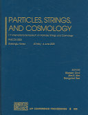 Particles, Strings and Cosmology