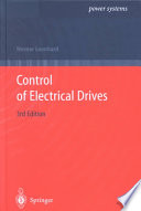 Control Of Electrical Drives Book PDF