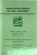 Agroecosystem Research for Rural Development