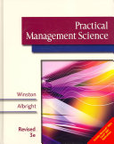 Practical Management Science  Revised Book