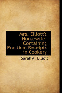 Mrs  Elliott s Housewife