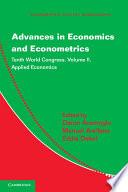 Advances in Economics and Econometrics  Volume 2  Applied Economics