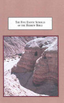 The Five Exotic Scrolls of the Hebrew Bible
