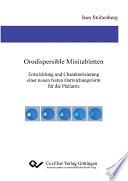 Orodispersible Minitabletten