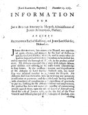 Information for John Bulman attorney in Morpeth  administrator of James Aitkenson  pursuer  against Alexander Earl of Galloway  and John Lord Gairlies  defender   Signed  Dav  Dalrymple