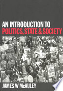An Introduction To Politics State And Society