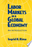 Labor Markets in a Global Economy  A Macroeconomic Perspective Book