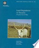 Land Degradation in Tanzania