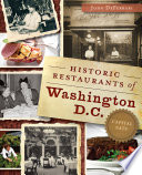 Historic Restaurants of Washington  D C