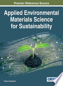 Applied Environmental Materials Science for Sustainability