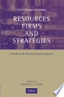 Resources  Firms  and Strategies