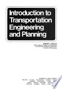 Introduction to Transportation Engineering and Planning