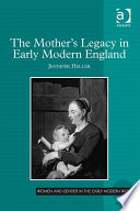 The Mother's Legacy in Early Modern England Pdf/ePub eBook