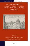 A Companion to Early Modern Rome, 1492-1692