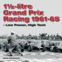 1 1 2 litre Grand Prix Racing