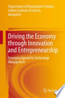 Driving the Economy through Innovation and Entrepreneurship
