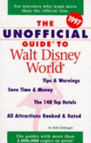 The Unofficial Guide to Walt Disney World 1997 Book