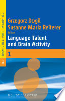 Language Talent And Brain Activity Book