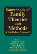 Sourcebook of Family Theories and Methods