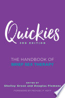 Quickies  The Handbook of Brief Sex Therapy  Third Edition