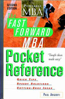 The Fast Forward MBA Pocket Reference Book